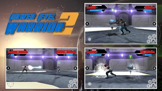 بازی اندروید جنگجو قدرتمند 2 - Power Level Warrior 2