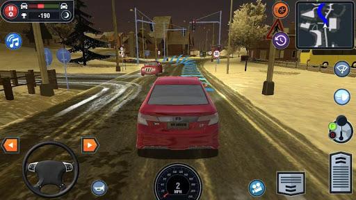 بازی اندروید شبیه ساز مدرسه رانندگی خودرو - Car Driving School Simulator