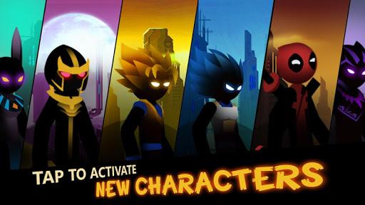 بازی اندروید بهترین کمان - افسانه استیکمن - جنگ آرچرو - Super Bow: Stickman Legends - Archero Fight