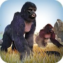 گوریل وحشی - دویدن میمون