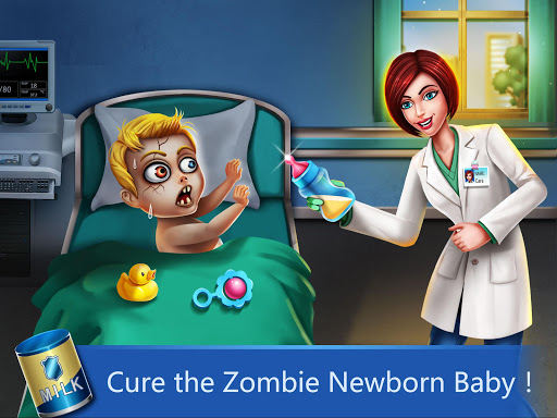 نرم افزار اندروید بیمارستان 2 - جراحی نوزاد زامبی - ER Hospital 2 - Zombie Newborn Baby ER Surgery