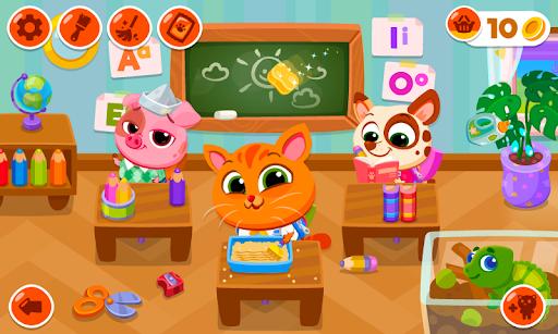 بازی اندروید مدرسه بابایو- حیوانات خانگی ناز من - Bubbu School – My Cute Pets