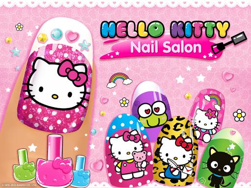 بازی اندروید سالن ناخن کیتی - Hello Kitty Nail Salon