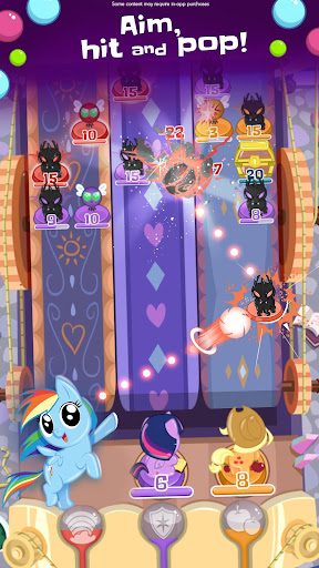 بازی اندروید اسب های کوچک جیبی - اسب کوچک من - My Little Pony Pocket Ponies