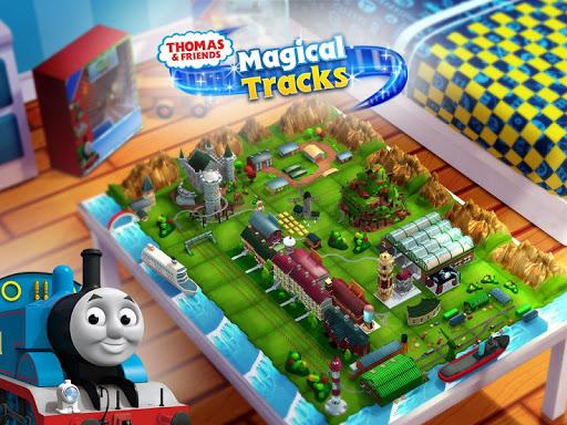 بازی اندروید توماس و دوستان - جاده سحر و جادو - Thomas & Friends: Magic Tracks