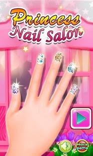 بازی اندروید سالن ناخن پرنسس - Princess Nail Salon