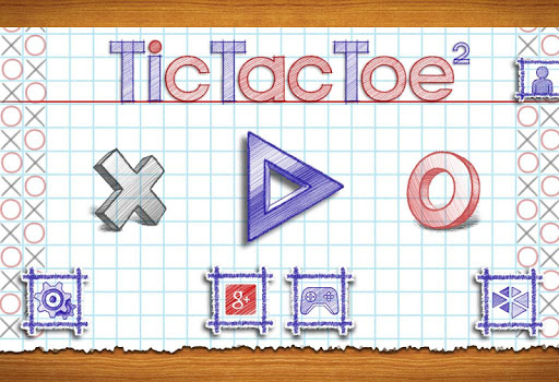 بازی اندروید تیک تاک 2 - Tic Tac Toe 2