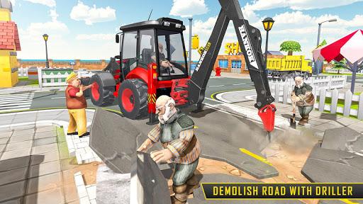 بازی اندروید بیل مکانیکی سنگین 2021 - شبیه ساز ساخت و ساز - Heavy Excavator Sim 2021: Construction Simulator