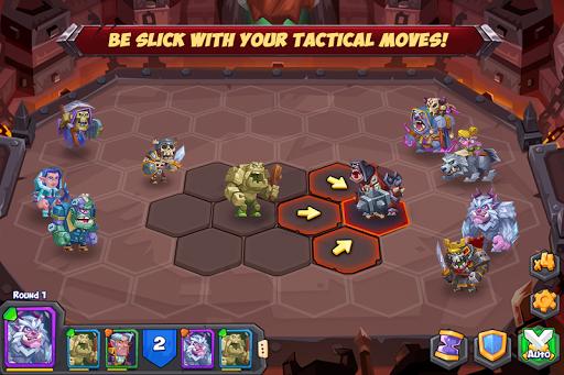 بازی اندروید هیولا تاکتیکی رامبل آرنا - Tactical Monsters Rumble Arena