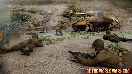 بازی اندروید بازی اکشن جنگ جهانی 2 - ندای شجاعت - Call Of Courage : WW2 FPS Action Game