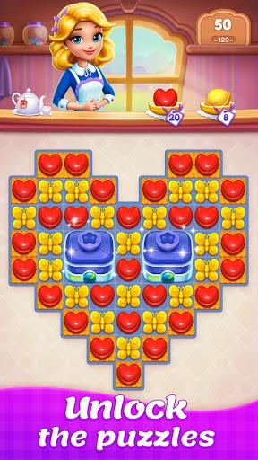 بازی اندروید افسانه تطبیق آب نبات - پازل تطبیق - Candy Sweet Legend - Match 3 Puzzle