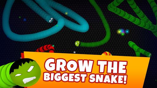 بازی اندروید نبرد مار - سرگرم کننده چند نفره - Snaky .io - Fun Multiplayer Slither Battle