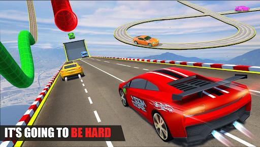 بازی اندروید مسابقه شیرین کاری اتومبیل - پرش با اتومبیل مگا رمپ - Car Stunt Racing - Mega Ramp Car Jumping