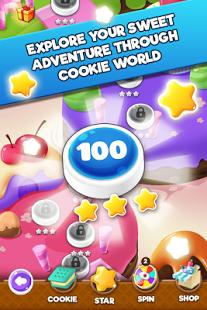 بازی اندروید انفجار شیرینی 2 - Cookie Blast 2 - Cookie Crush