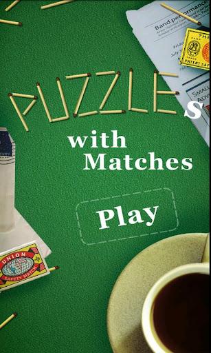 بازی اندروید مسابقات پازل ها - Puzzles with Matches