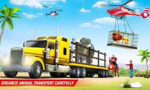 بازی اندروید شبیه ساز کامیون حمل حیوانات مزرعه - Farm Animal Transport Truck Driving Simulator