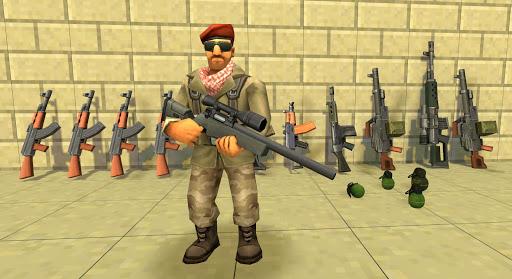 بازی اندروید جعبه تیرانداز - StrikeBox: Sandbox&Shooter