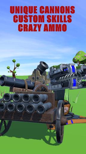 بازی اندروید تیرانداز توپ - توپ ها تکامل یافتند - Cannons Evolved - Cannon & Ball Shooting Game
