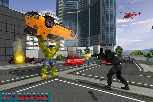 بازی اندروید نبرد شهر ابر قهرمانان - Monster Hero City Battle