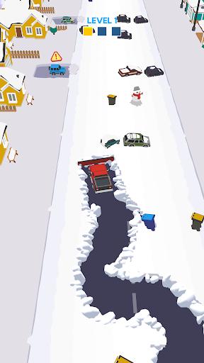 بازی اندروید ماشین برف روب - Clean Road
