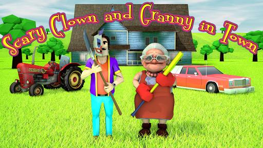 بازی اندروید  همسایه دلقک ترسناک - جستجو و فرار کنید - Scary Clown Man Neighbor. Seek & Escape