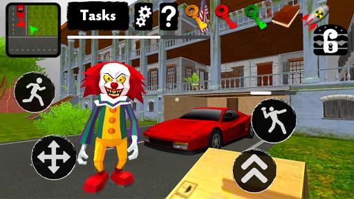 بازی اندروید همسایه دلقک - لحظه انتقام - Clown Neighbor. Second Revenge 3D