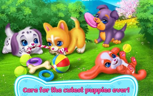 بازی اندروید توله سگ عشق - رویای من - Puppy Love - My Dream Pet