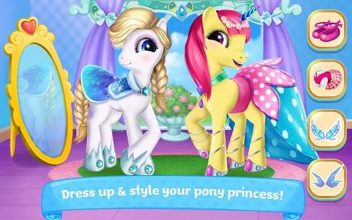 بازی اندروید پرنسس پونی - Pony Princess Academy