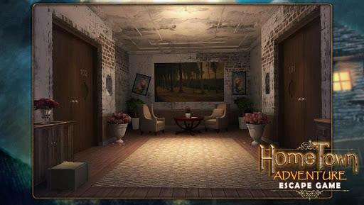 بازی اندروید بازی فرار - ماجراجویی خانه - Escape game:home town adventure
