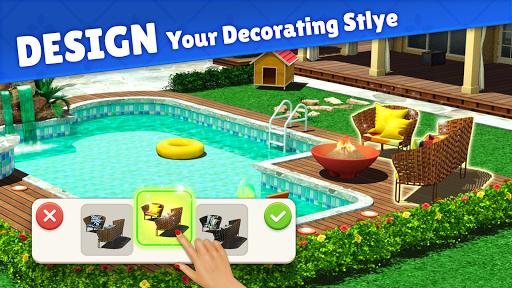 بازی اندروید طراحی خانه - زندگی کارائیب  - Home Design : Caribbean Life