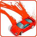 ماشین رنگ شده