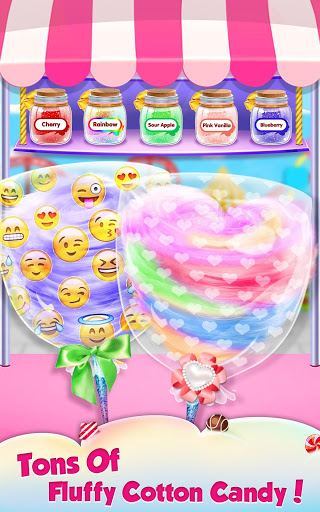 بازی اندروید غذای منحصر به فرد - آب نبات شیرین - Fair food - Sweet Cotton Candy