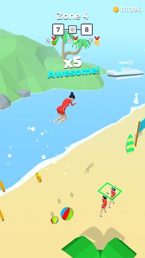 بازی اندروید پرش ضربتی - Flip Jump Stack!
