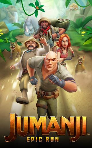 بازی اندروید جومانجی - اجرای حماسه - Jumanji: Epic Run