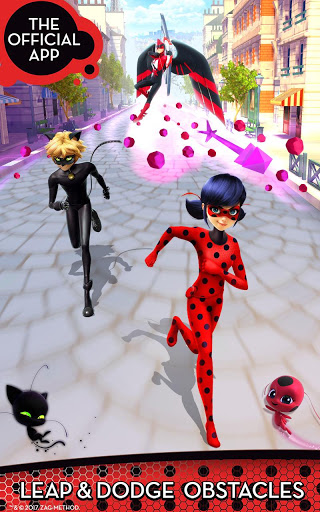 بازی اندروید اشکال عجیب و غریب گربه - Miraculous Ladybug & Cat Noir - The Official Game