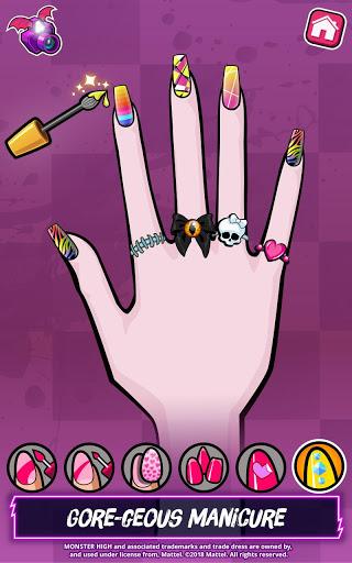 بازی اندروید هیولای باکلاس - Monster High™ Beauty Shop: Fangtastic Fashion Game