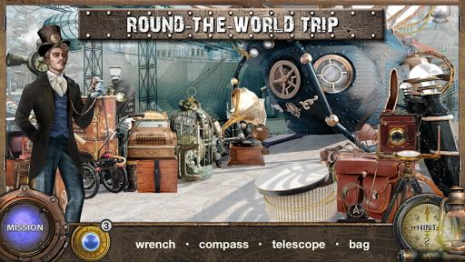 بازی اندروید بازی های پنهان - سفر به سراسر جهان در 80 روز - Hidden Object Games : Around The World in 80 Days
