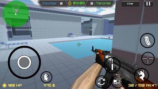 بازی اندروید برخورد قطعی - Critical Strike CS 2 GO Online