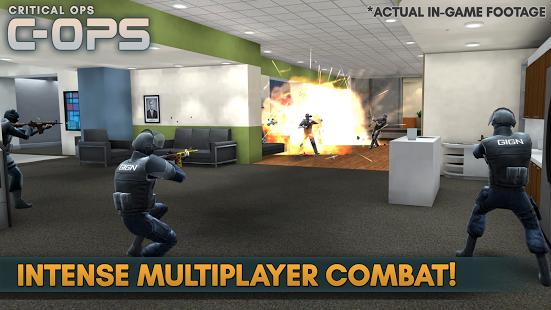 بازی اندروید عملیات بحرانی - Critical Ops