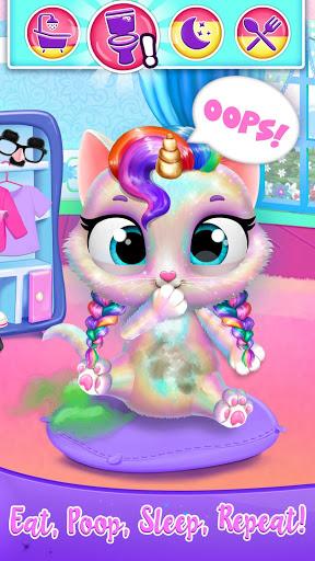بازی اندروید مراقبت شاهزاده خانم گربه تکشاخ - Twinkle - Unicorn Cat Princess