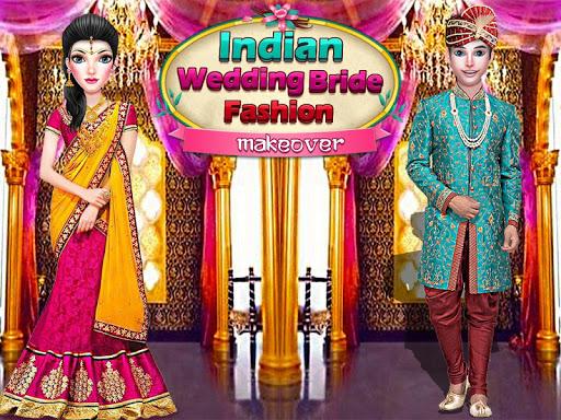 بازی اندروید سالن عروسی هند - Indian Royal Wedding Ritual Fashion Salon