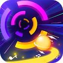 برخورد رنگ ها - بازی ضربان نواخت دایره  رنگ