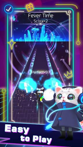 بازی اندروید گربه صوتی - ضرب و شتم ضربان - Sonic Cat - Slash the Beats🎵🕹️