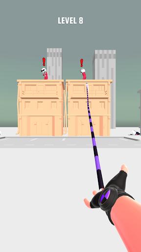 بازی اندروید مرد قلاب - Ropeman 3D