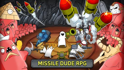 بازی اندروید موشک شخص - شلیک موشک - [VIP]Missile Dude RPG: Tap Tap Missile