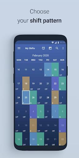 نرم افزار اندروید برنامه کاری شیفت - Shift Work Schedule