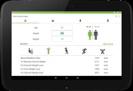 نرم افزار اندروید محاسبه بی ام آی - وزن سالم - BMI Calculator. Healthy Weight
