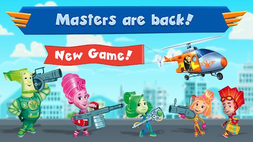 بازی اندروید ساخت وسایل برای کودکان - Fiksiki: Building Games Fix it Free Games for Kids