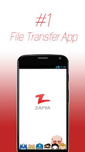 نرم افزار اندروید زاپیا - اشتراک فایل - Zapya - File Transfer, Sharing