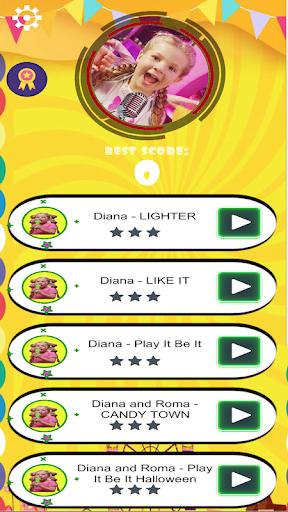 بازی اندروید  دیانا و رومی - کاشی هاپ خنده دار بچه ها - Diana And Roma tiles Hop Funny Kids